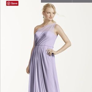bridesmaid/prom lavender purple dress